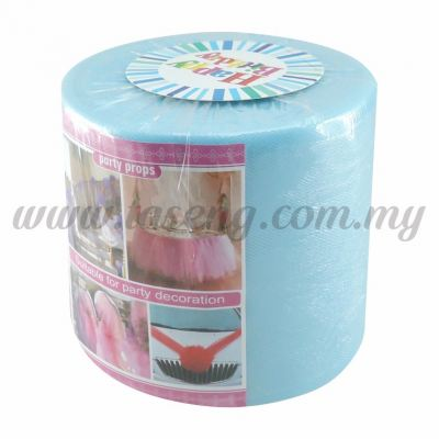 Tulle Table Skirt - Blue (FA-TB-B)