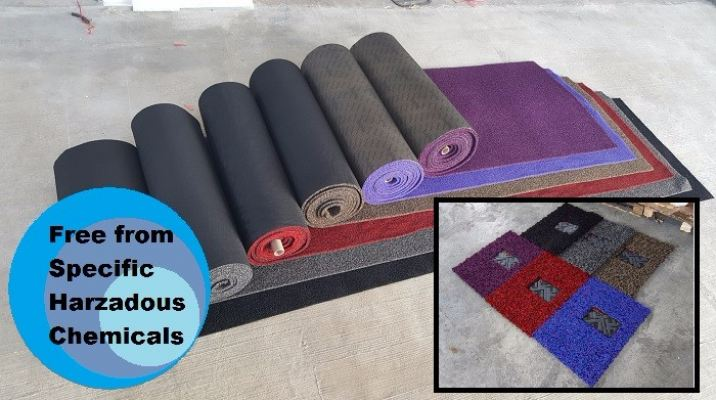 Ecoformat Roll Car Mat (Magic Grip Backing)