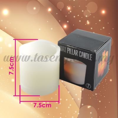 3inch LED Wax Pillar Candle (CDL-LED-3W)