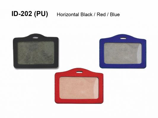 ID-202 (PU) ID CARD HOLDER