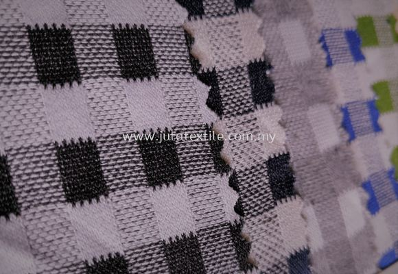 L8012 Square Lattice Cotton Fabric