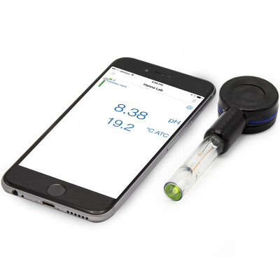HI14142  HALO® Wireless pH Meter for Flat Surfaces