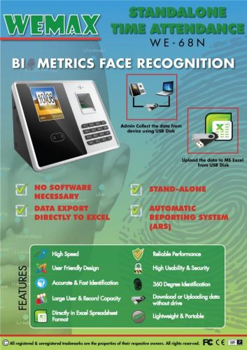 Office Equipment Supplier, Time Attendance System Suppliers Kuala