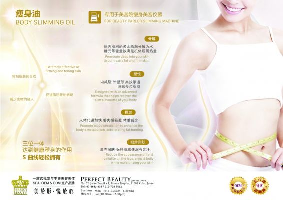Body Slimming Oil