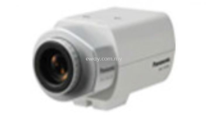 WV-CP300-G Panasonic Varifocal Box Camera Simple Day Night Fixed Camera 650TVL, AC220-240V