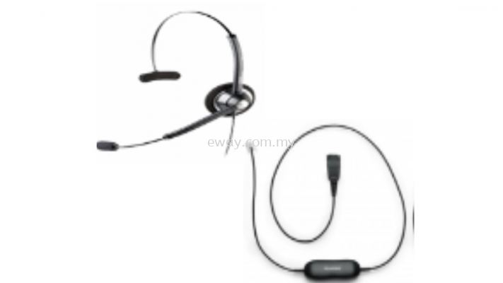 Jabra Wired Headset BIZ 1900NC Duo
