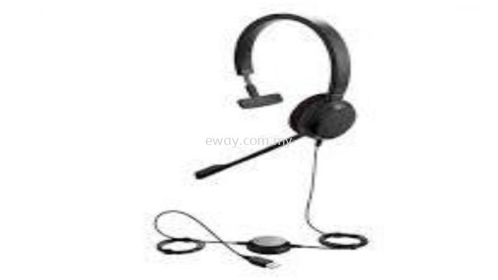 JABRA-E20MS-MONO Wired-USB Headset