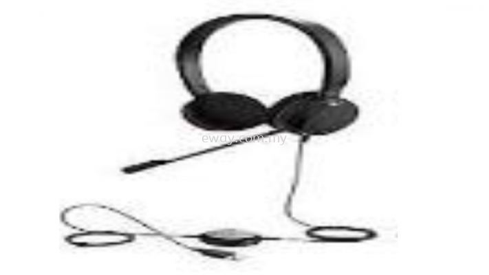 JABRA-E20MS-STEREO Wired-USB Headset