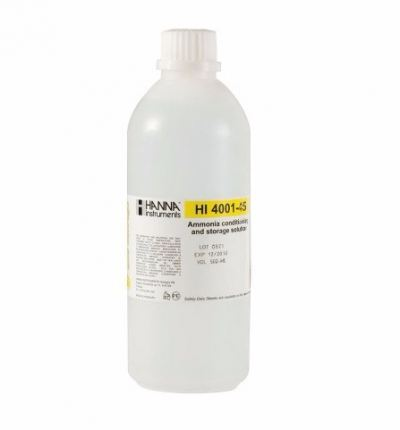 HI4001-45 Ammonia ISE Conditioning and Storage Solution
