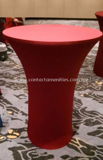 Cocktail Table Cloth (Red)