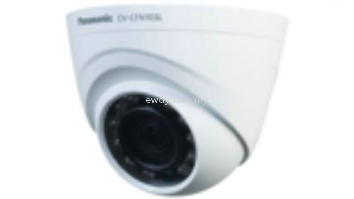 CV-CFN203L Panasonic 2.0 Megapixel FHD Analog Day Night Fixed 3.6mm IR Indoor Dome Camera