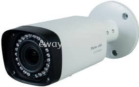 CV-CPW201L Panasonic 2.0 Megapixel FHD Analog Day Night Varifocal 2.7-12mm IR Outdoor Bullet Camera