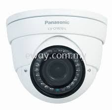 CF-CFW203L Panasonic  2.0 Megapixel FHD Analog Day Night Fixed 3.6mm IR Outdoor Dome Camera