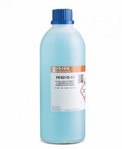 HI4010-10 Fluoride ISE 10 ppm Standard with TISAB II