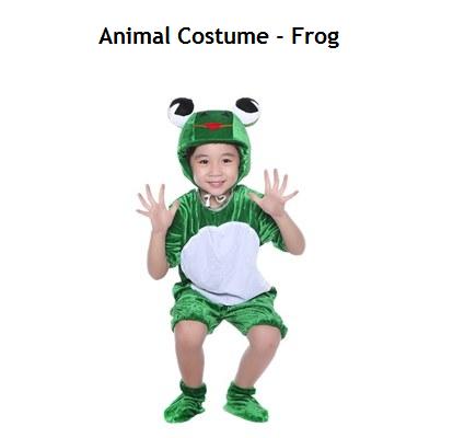 Animal Costume - Frog (Pre-Order 2 Week)
