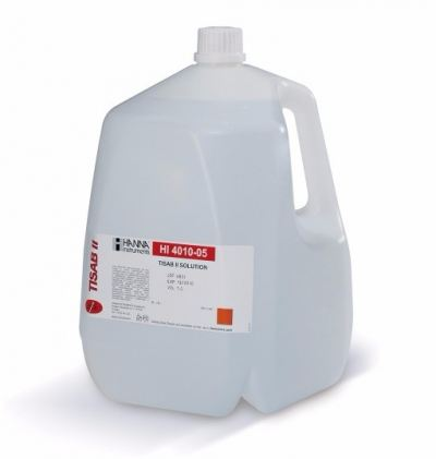 HI4010-05 TISAB II for Fluoride ISEs (1 gallon)