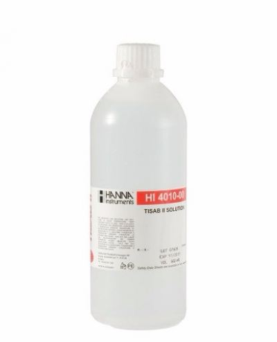 HI4010-00 TISAB II for Fluoride ISEs (500 mL)