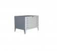A-HPF-A0 * 6 Drawer Horizantal Plan File Cabinet   Filing Cabinet Series Steel Furniture