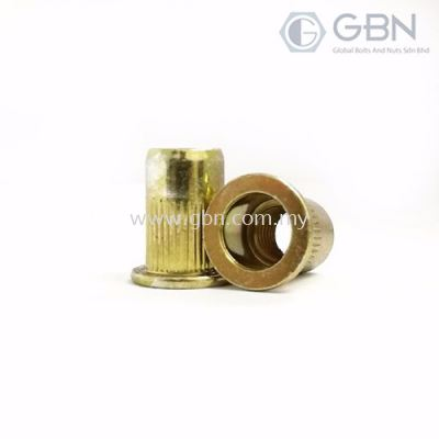 Crimp Nuts Flange Type Body Serration (BEM)