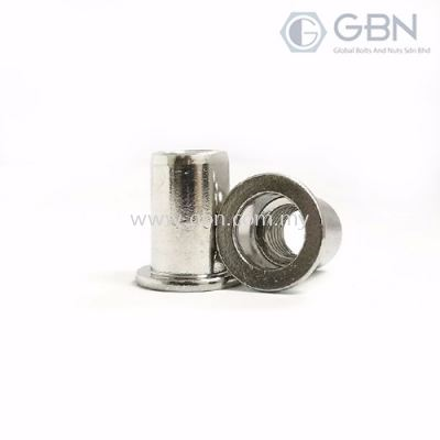 Crimp Nuts Flange Type Washer Serration (BEM)