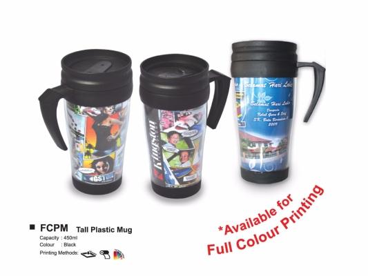FCPM TALL PLASTIC MUG