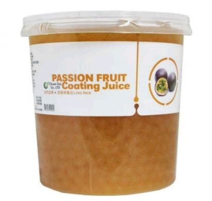 PASSIONFRUIT POPPING BOBA 3.2KG