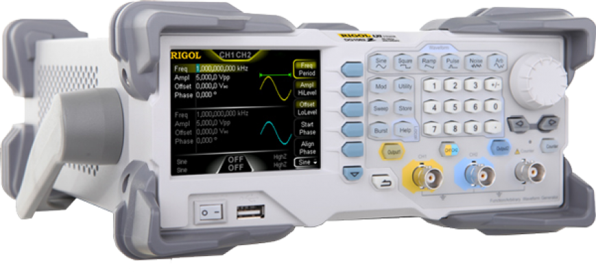 DG1000Z Series Arbitrary Waveform Function Generator