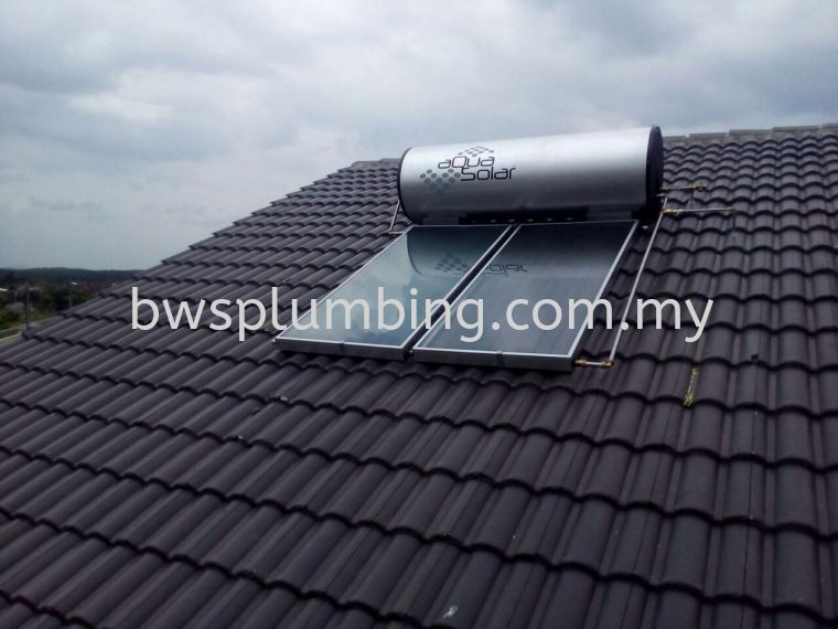Aqua Solar Hot Water Heating System in Selangor Aquasolar Solar Water Heater Repair & Service BWS Customer Service Centre