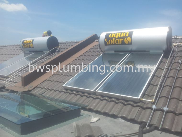 Bandar Contry Homes, Selangor | Aqua Solar Water Heater Installation BWS Customer Service Centre
