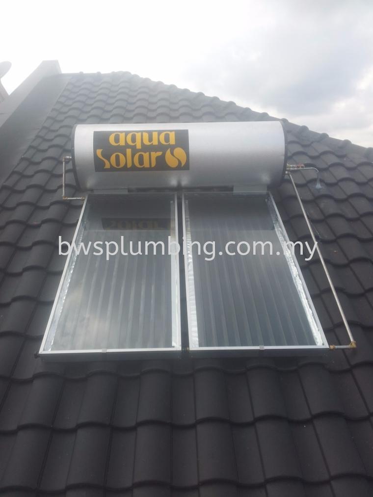 Bukit Rahman Putra, Selangor | Aqua Solar Water Heater Installation BWS Customer Service Centre