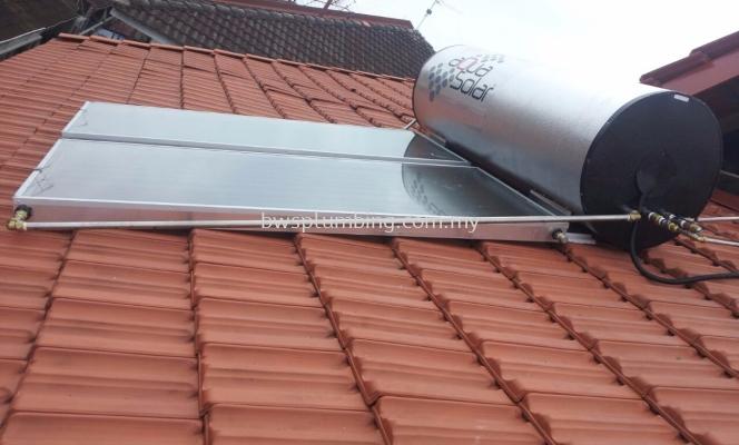 Pandan Perdana, Kuala Lumpur | Aqua Solar Water Heater Installation