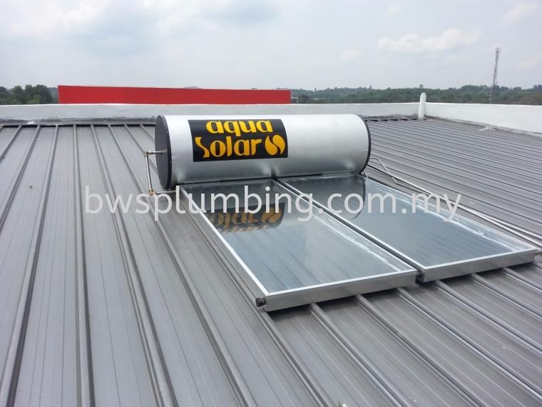 Setia Alam, Selangor | Aqua Solar Water Heater Installation BWS Customer Service Centre