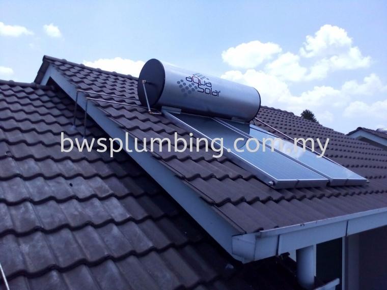 Sunway, Selangor | Aqua Solar Water Heater Installation BWS Customer Service Centre