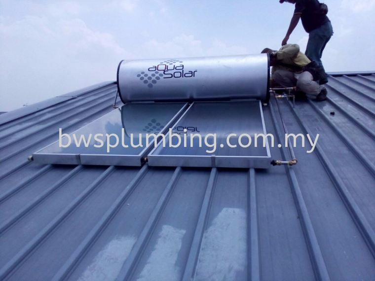 Aqua Solar Authorized Distributor Water Heater Installation Alor Gajah, Malacca |  Aquasolar Solar Water Heater Repair & Service BWS Customer Service Centre