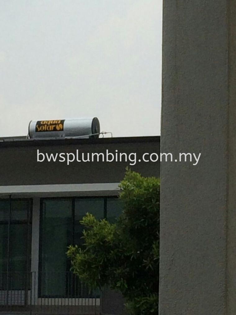 Gombak, Selangor |  Aqua Solar Water Heater Installation BWS Customer Service Centre