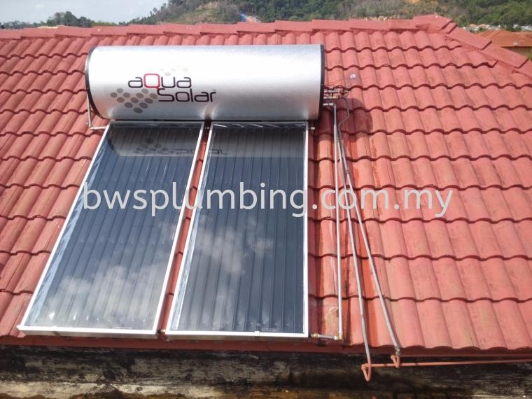 Bukit Tunku, Kuala Lumpur | Aqua Solar Water Heater Installation BWS Customer Service Centre