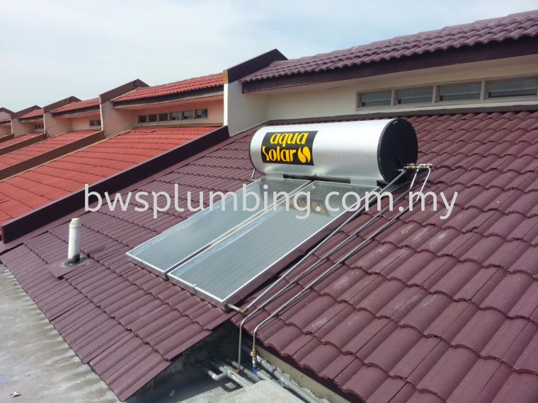 Port Klang, Selangor | Aqua Solar Water Heater Installation BWS Customer Service Centre