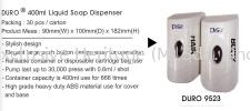 DURO 9523 Soap Dispenser Soap Dispenser and Toilet Seat Sanitizer Dispenser