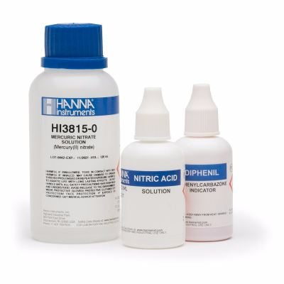 *HI3815-100 Chloride Test Kit Replacement Reagents (110 tests)