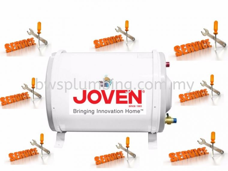 Repair Joven Storage Water Heater at Kota Kemuning Joven Storage Water Heater Repair & Service BWS Customer Service Centre