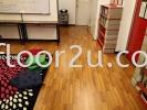 LF-U6302 Black Teak Laminate Flooring-Unique collection