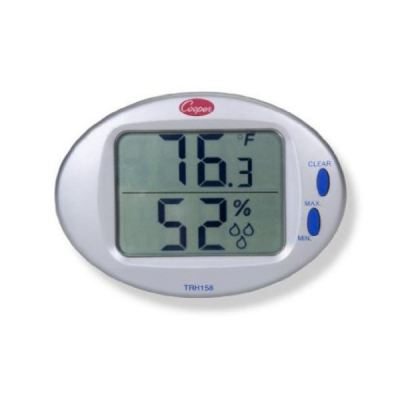 Cooper Atkins TRH158 - Digital Temperature & Humidity Wall Thermometer [Delivery: 3-5 days subject to availability]