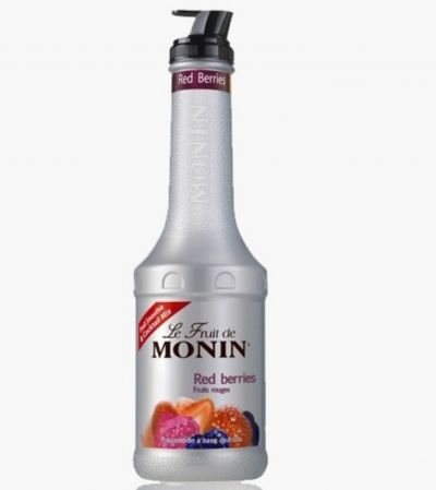 MONIN RED BERRIES PUREE 1L