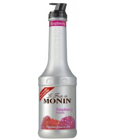 MONIN RASPBERRY PUREE 1L