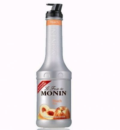 MONIN PEACH PUREE 1L