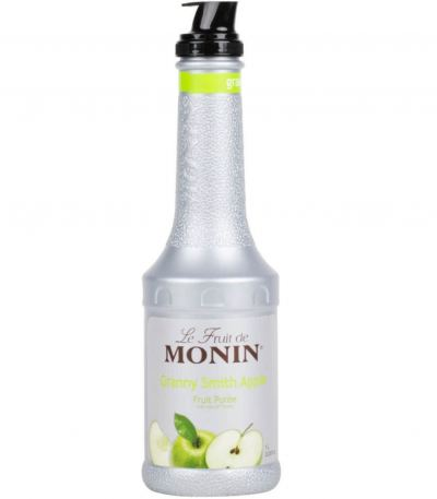 MONIN GREEN APPLE PUREE 1L