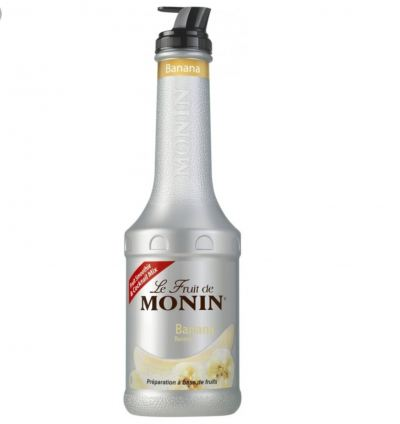 MONIN BANANA PUREE 1L