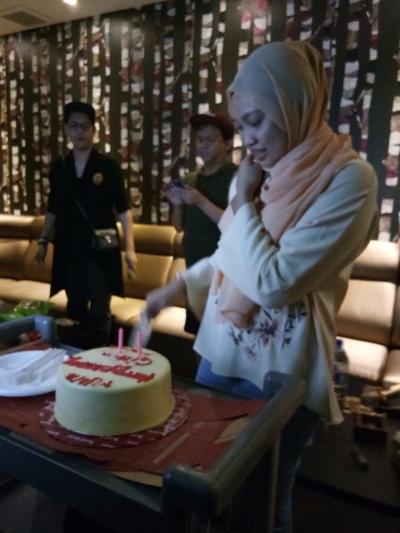 Birthday Part At V KBOX Medium Room