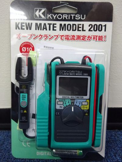 KYORITSU KEWMATE 2001 DIGITAL MULTIMETER WITH AC/DC CLAMP SENSOR