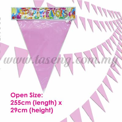 Triangle Banner Baby Pink (P-BNT-BP)